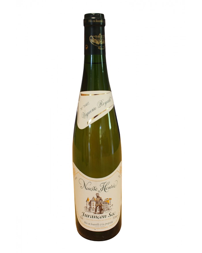 Jurançon Nouste Henric vin blanc sec 75cl
