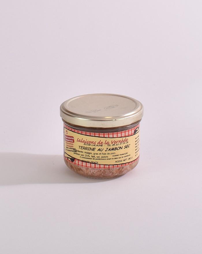 Terrine au jambon sec 180g Salaisons