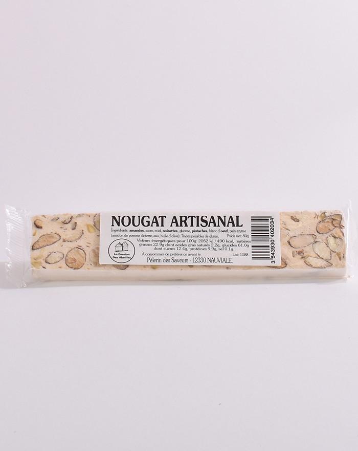 Nougat artisanal 80g Le pèlerin des saveurs