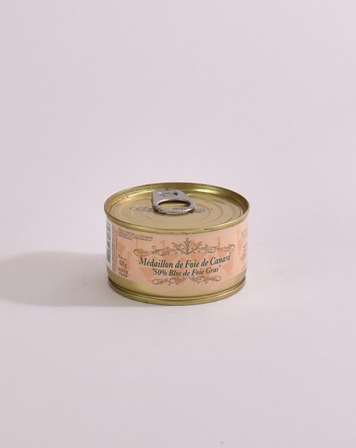 Médaillon 50% bloc de foie gras 125 g