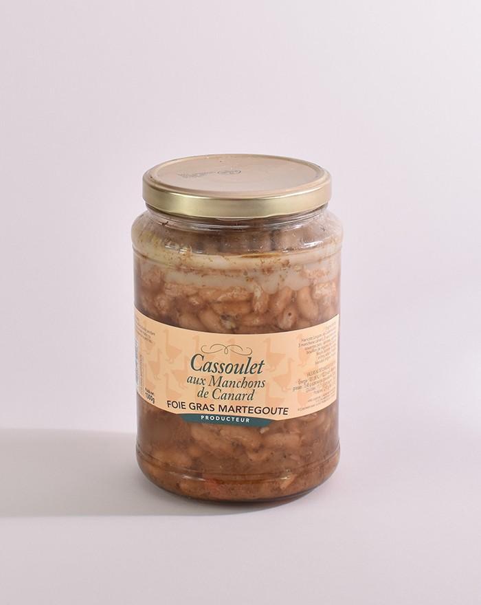 Cassoulet aux manchons de canard 1,3kg