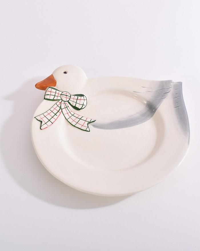 Assiette canard 9238