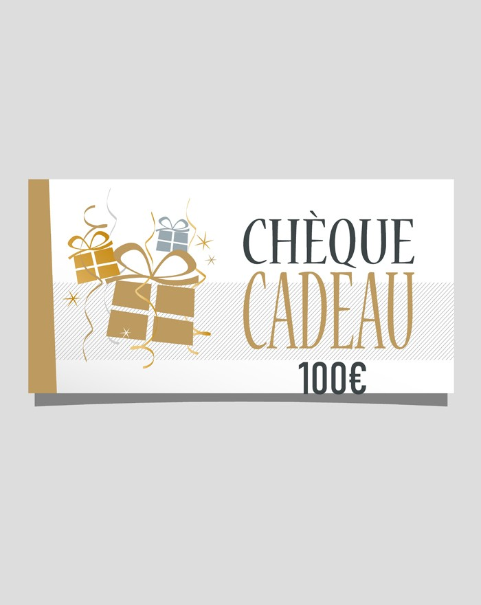 Chèque cadeau de 100 €